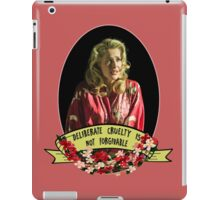 It is the one unforgivable thing in my opinion. iPad Case/Skin