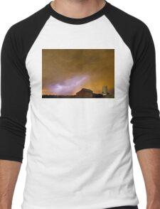 Country Spring Storm Men's Baseball ¾ T-Shirt