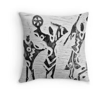 Rejoice in Dance and Song Throw Pillow