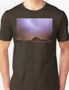 Country Stormy Night Unisex T-Shirt