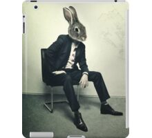 Stylish Rabbit iPad Case/Skin