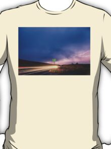 Cruising Highway 36 Into the Storm  T-Shirt