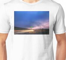 Cruising Highway 36 Into the Storm  Unisex T-Shirt