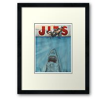 JITS - Mat is Ocean - TITLE ONLY Framed Print