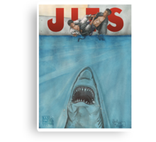 JITS - Mat is Ocean - TITLE ONLY Canvas Print