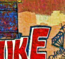 Graffitti Sticker