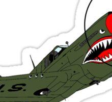 P-40 Warhawk Sticker