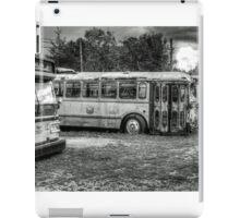 bus stop iPad Case/Skin