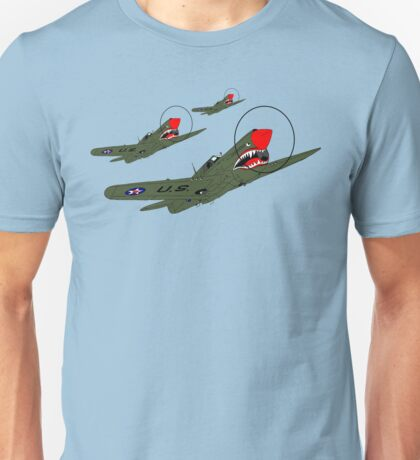 Flying Tigers, Attack Unisex T-Shirt