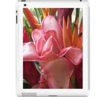 Tropical Blossoms, pt1 iPad Case/Skin
