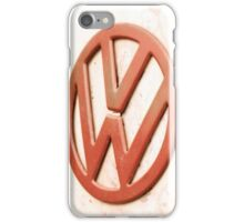 VW Camper Van Badge iPhone Case/Skin