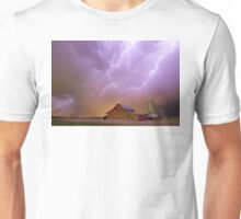 Red Barn on a Farm and What a Beautiful Sight Unisex T-Shirt