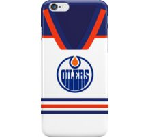 Oilers Away Jersey iPhone Case/Skin