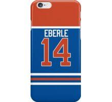 Oilers Jordan Eberle Jersey iPhone Case/Skin