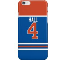 Oilers Taylor Hall Jersey iPhone Case/Skin