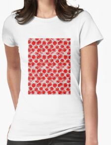 Cherry Sunset Womens Fitted T-Shirt