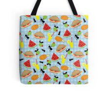 Funny Picnic Food  Tote Bag