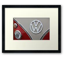 VW Badge Framed Print