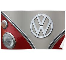 VW Badge Poster
