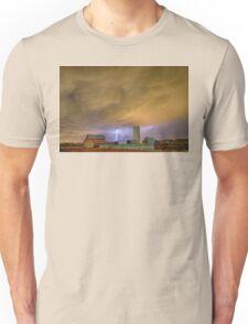 Thunderstorm Hunkering Down On The Farm Unisex T-Shirt