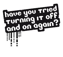 Have you tried turn it off & on again by Style-O-Mat