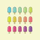 Popsicle Gradient by Colleen Sweeney