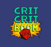 Crit Crit Boom Womens Fitted T-Shirt