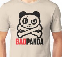 Bad Pirate Panda Unisex T-Shirt