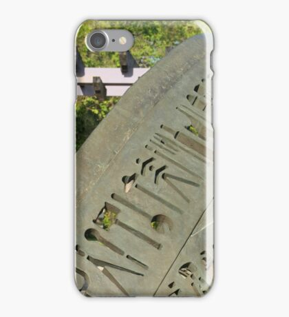 Abstract Stone Sculpture iPhone Case/Skin