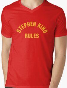 Stephen King Rules Mens V-Neck T-Shirt