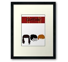 GRYFFINDOR. Framed Print