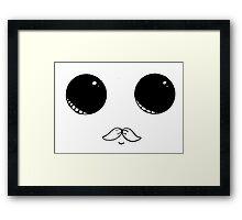Mustache Seal Framed Print