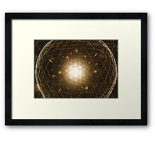 Light Sphere Framed Print