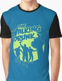 The Walking Drunk Graphic T-Shirt