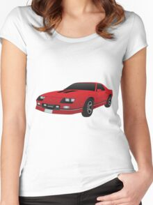 1985 Chevy Camero  Women's Fitted Scoop T-Shirt