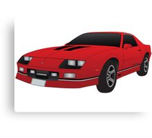 1985 Chevy Camero  Canvas Print