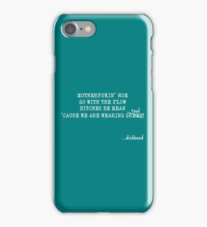 Teal - Wentworth iPhone Case/Skin