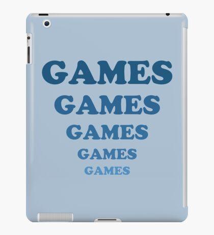 Games Games Games Games Games iPad Case/Skin