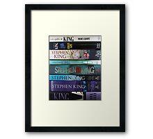 Stephen King HC2 Framed Print