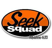 Seek Squad Photographic Print