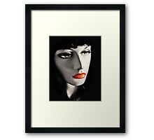 Real Doll Framed Print