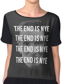 THE END IS NYE Chiffon Top