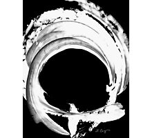 Black Magic 304 Inverted by Sharon Cummings Photographic Print