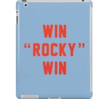 Win Rocky Win iPad Case/Skin
