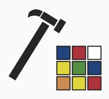 Rubik's Cube Solved by Jonathan Lynch
