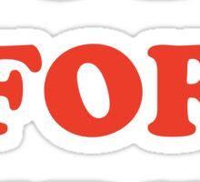 Vote For Pedro Sticker
