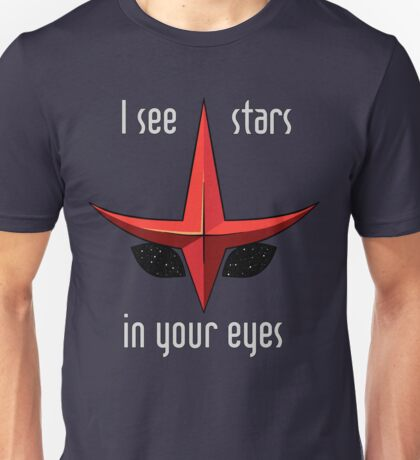I see stars in your eyes Unisex T-Shirt