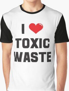 I Heart Toxic Waste Graphic T-Shirt