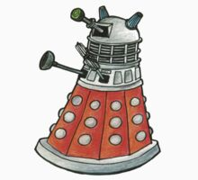 Red Dalek by RiverbyNight