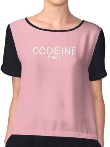 Codeine Paris - White  Chiffon Top